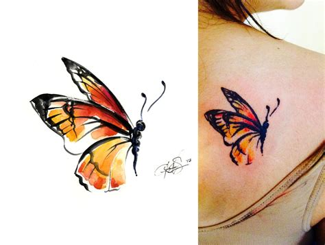 watercolor tattoo after time i find that pin my watercolor paintings all the