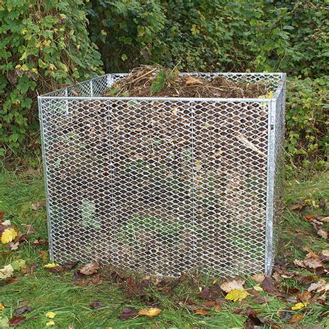 bauhaus komposter im garten hadra komposter 100 x 100 x 80 cm bauhaus