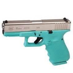 glock 42 g42 tiffany blue 380 acp mint teal new : semi