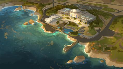 New Finding Dory Concept Art Puts You Right Into The Deep Find The Right Artist For Your