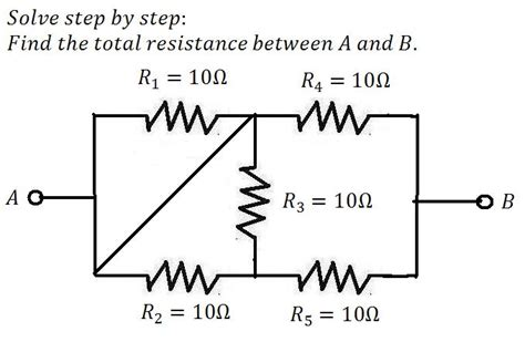the total resistance of several resistors connected in parallel is total resistance in circuit mathskey
