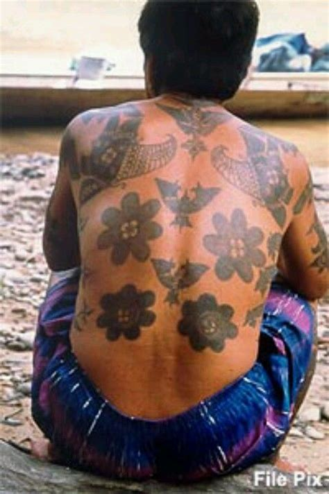 tattoo tribal iban iban tribal tattoos vincit qui se vincit pinterest