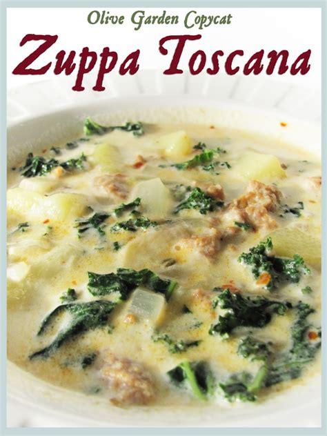 olive garden soups recipe