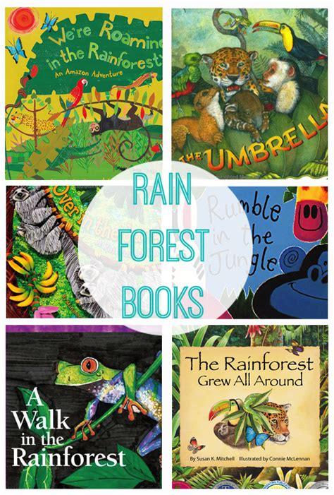 rainforest picture books rainforest books for