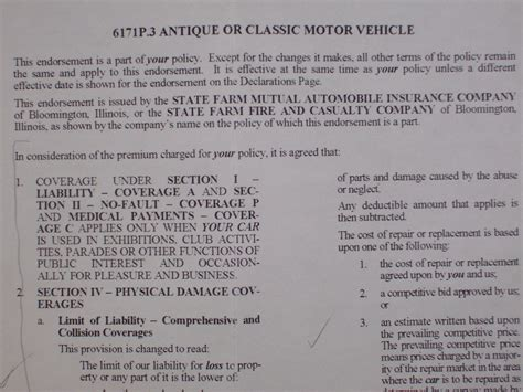 Agreed Value Car Insurance by Stated Or Agreed Value Auto Insurance Page 2