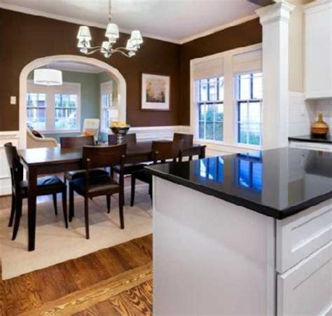 Chocolate Brown Dining Room by Brown Rooms Living Room Paint