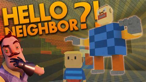 Weirdest Hello Neighbor Fan Games Ripoffs Let S Play