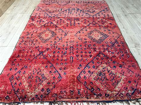 Rugs Moroccan by East Unique Vintage Moroccan Rug Tapis Berbere Beni