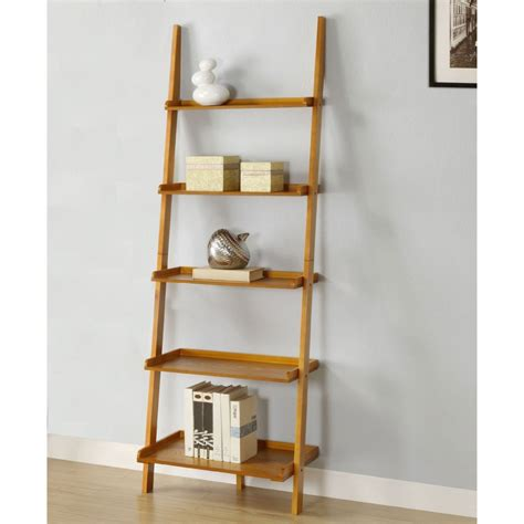 oak ladder bookcase best 22 leaning ladder bookshelf and bookcase collection