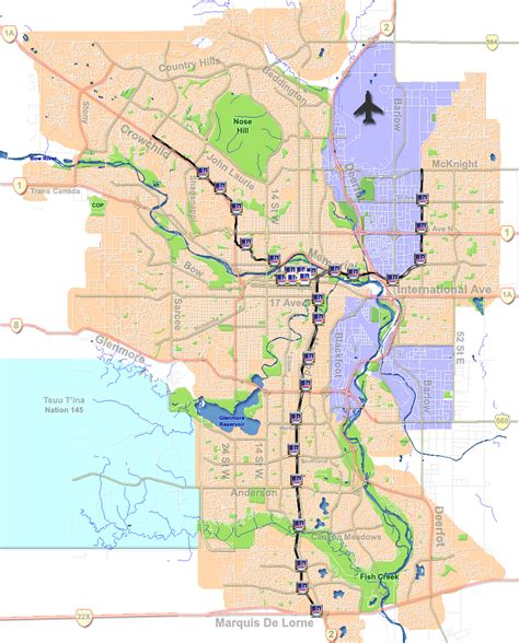 calgary map file calgary ctrain stations png wikimedia commons