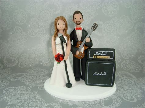 customized groom theme wedding cake topper