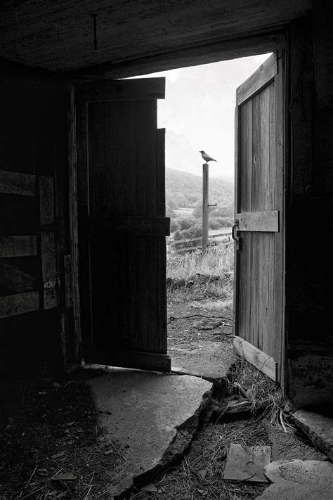 Barn Doors Photography Barn Door View From Within Barn Picture Photograph By Gary Heller