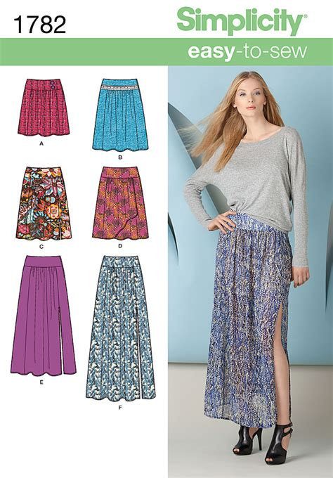 sewing pattern review forum simplicity 1782 misses skirt