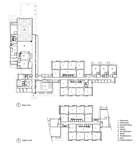 architecture school floor plan gallery of mcmicken elementary school tcf architecture 13