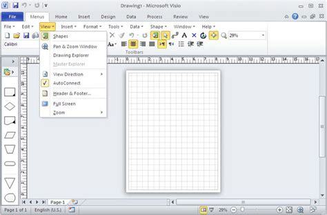 visio for office 2010 classic menu for visio 2010 5 00