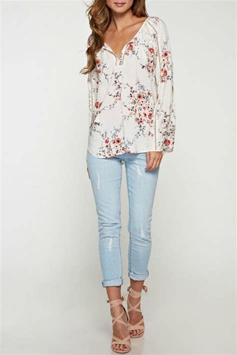 Cherrya Top lovestitch cherry blossom top from los angeles by boutique shoptiques