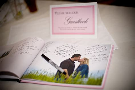guest book picture wedding guest book inspiration