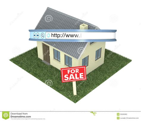one house real estate online real estate stock photography image 35565962