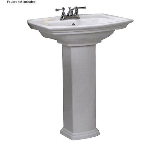 Barclay Pedestal Sink by Barclay Washington 550 Pedestal Lavatory 4 Quot Cc Walmart