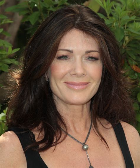 Linda Vanserpump Hair | lisa vanderpump medium straight casual hairstyle dark