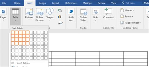 templates for tables in word how to create table templates in microsoft word