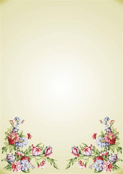 flores de hoja de maquina hojas de papel con dise 241 o para cartas solountip com