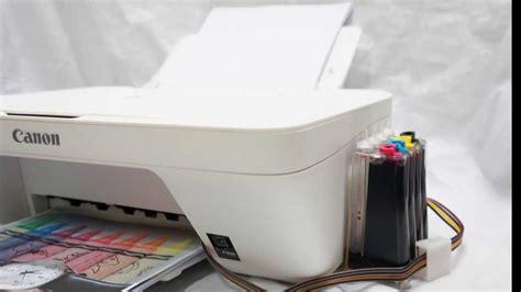 resetter printer pixma mg2570 canon mg2570白 與mg2470灰同款 墨水達人改裝連續供墨實測全紀錄 youtube