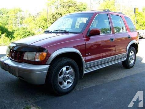 Kia 99 99 A Month 1999 99 Kia Sportage Ex 4x4 2 Tone Only 117k For