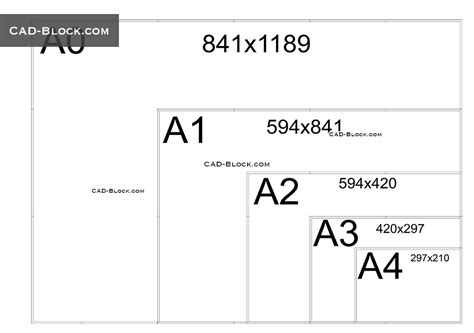 Drawing Chart Paper Size