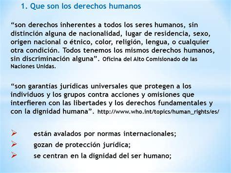 cuales son derechos humanos personas con discapacidad enfoque de derechos humanos en