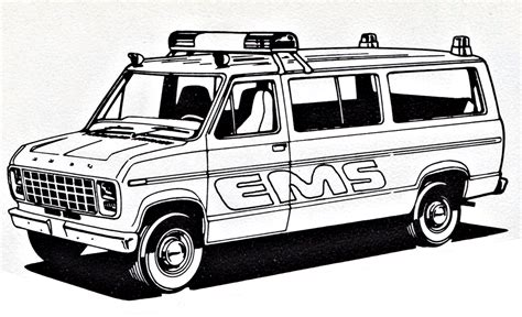 police van coloring page ford ems police van coloring sheet by ryanthescooterguy on
