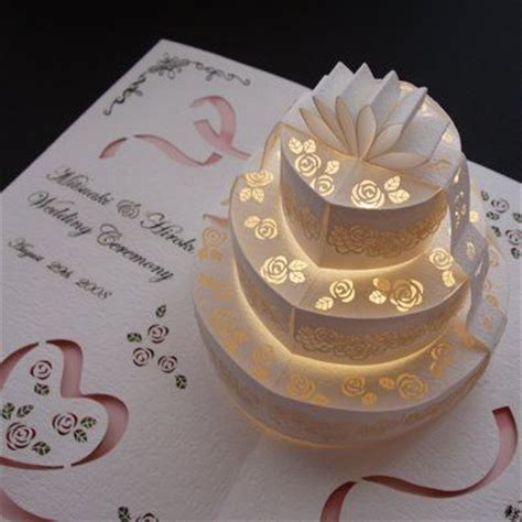 how to make a cake pop up card such a wonderful idea for a wedding card here is a