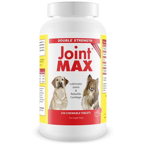 Suplemen Joint Max joint max 174 strength 250 chewable tablets