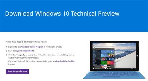 install windows 10 technical preview how to install windows 10 now pc advisor