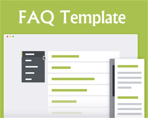 faq bootstrap template faq template with css and jquery jquery plugins
