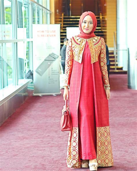 Model Baju Terbaru dress busana muslim untuk acara formal nibinebu