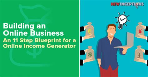 income online 11 steps to an online income generator new inceptions