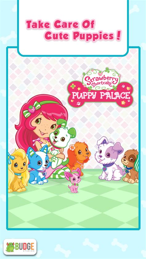 strawberry shortcake puppy palace strawberry shortcake puppy palace pet salon dress up ios