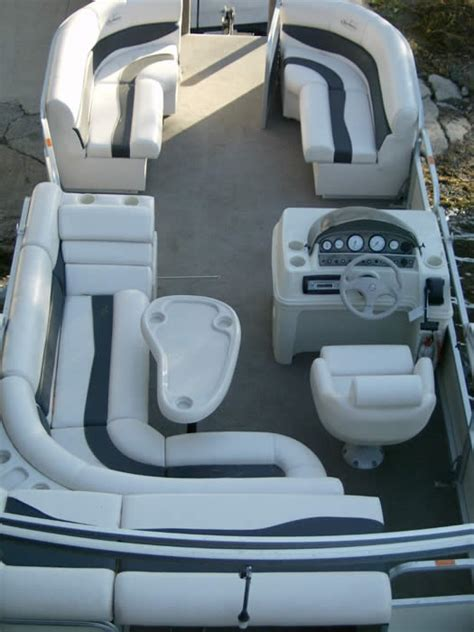 Pontoon Boat Interior by Ponton Houseboat Au 1 24