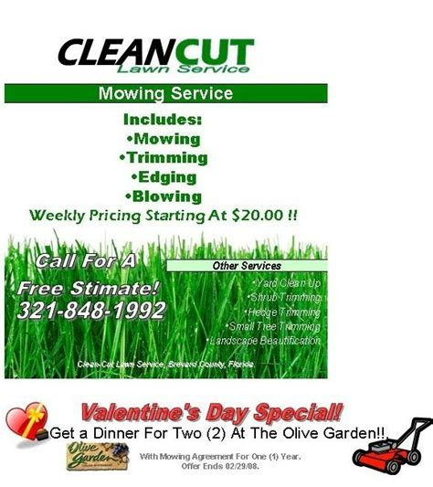 free lawn mowing flyer template lawn care flyer template free best business template