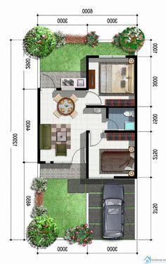 desain rumah minimalis type  desain rumah desain rumah pinterest extensions
