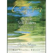 christian words of comfort charles spurgeon edited by roy h clarke beside still