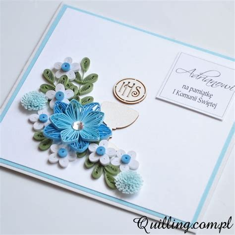 Handmade Quilling Greeting Cards - 1000 ideas about communion cards on