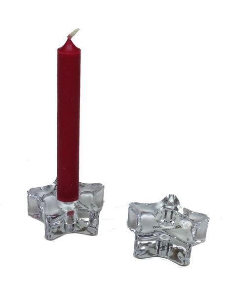 Jumbo Hem List Black To Z Chime Candle Holder Glass Each