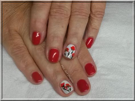 Decoration Coquelicot by Deco Ongles Coquelicot