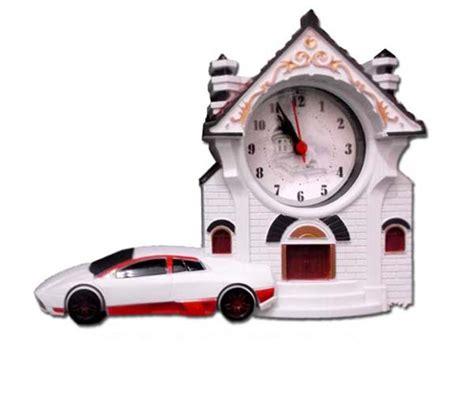 jam weker antik replika mobil dan rumah