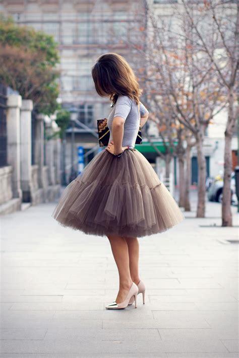 Tulle Skirt the tulle skirt it doesn t get more feminine than that