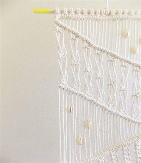 Diy Macrame Wall Hanging - diy macrame wall hanging a pair a spare
