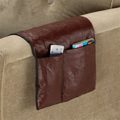 armchair organizers leather armchair caddy armchair caddy organizer miles kimball
