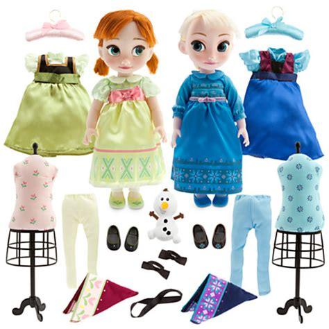 Set Gamis Frozen Elsa No 1 1 2thn image frozen and elsa 2014 disney animators doll